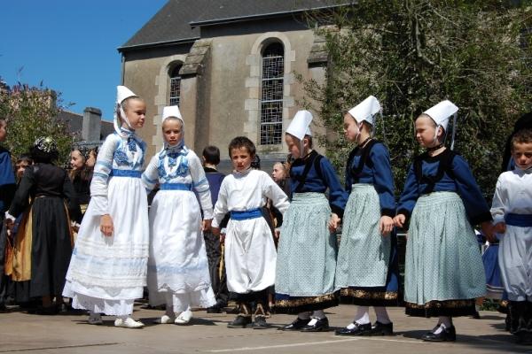 Festival de Cornouailles - Défilé des enfants