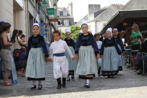 Festival de Cornouaille - Défilé des enfants